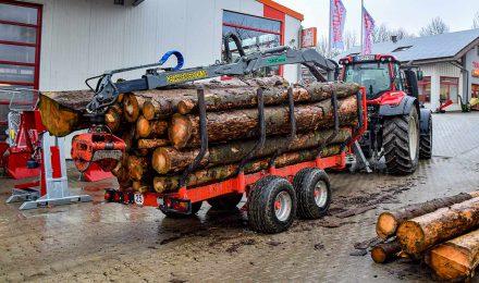 Maschinelle Unterstützung mit Verlässlichkeit und Präzision ist im Bereich der Forsttechnik Voraussetzung unserer Beratung.