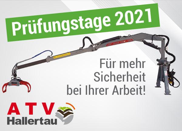 Forstkran Prüftage ATV Hallertau