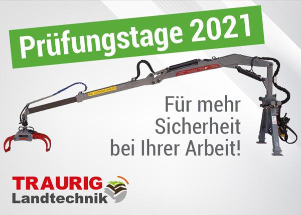 Forstkran - Prüftage 2021