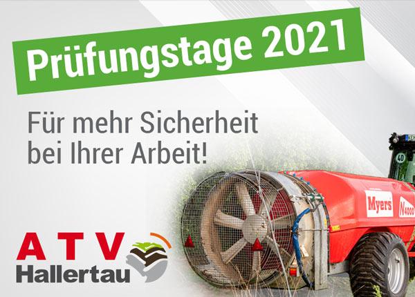 Hopfenspritzen Prüftage ATV Hallertau